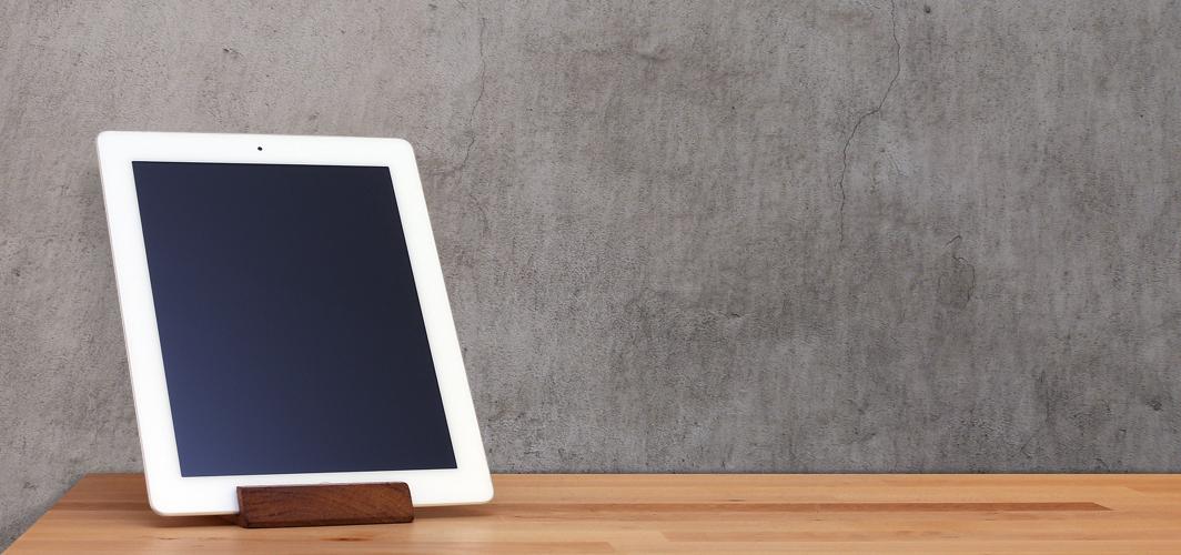 iPad-holderen